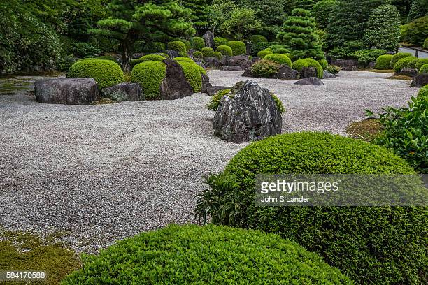 Mimurotoji Zen Garden in Uji is also known as the flower temple for its large gardens of seasonal flowers Its most famous garden is a classic...