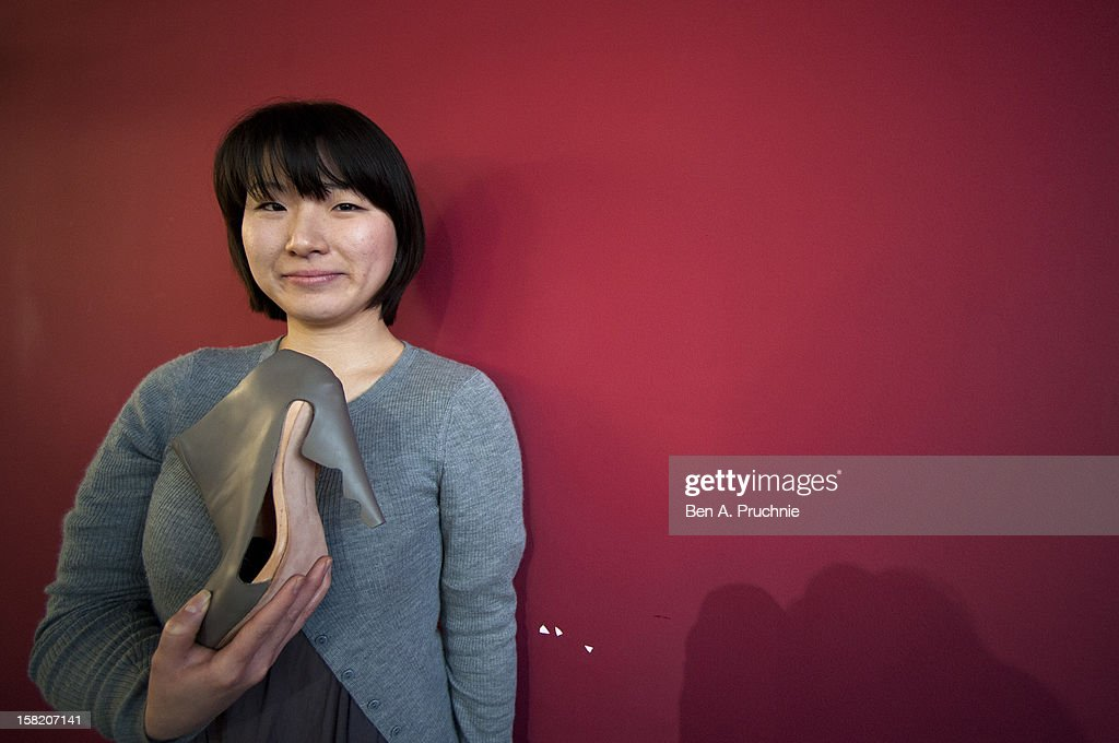 Min Kyung Song wins the Fashion Fringe and Accessories 2012 award at IMG Fashion, on December 11, 2012 in London, England.