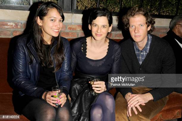 Min Lieskovsky Taryn Simon and Jake Paltrow attend SALMAN RUSHDIE Launch Party for 'Luka and the Fire of Life' at The Bowery Hotel on November 15...