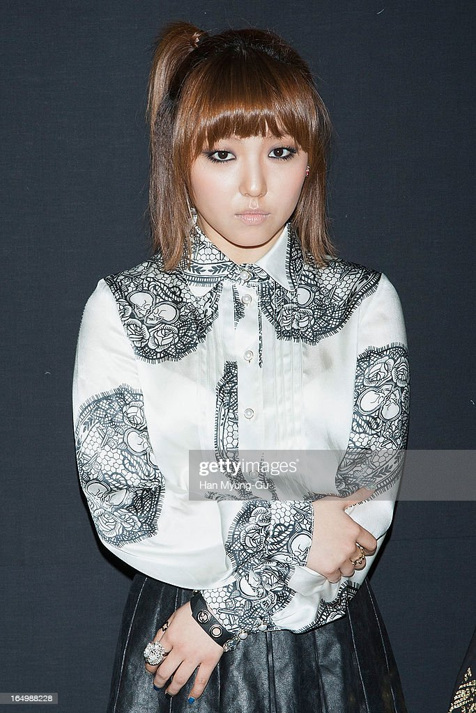 Min of girl group Miss A attends at the 'KYE' show on day four of the Seoul Fashion Week F/W 2013 at IFC Seoul on March 28, 2013 in Seoul, South Korea.