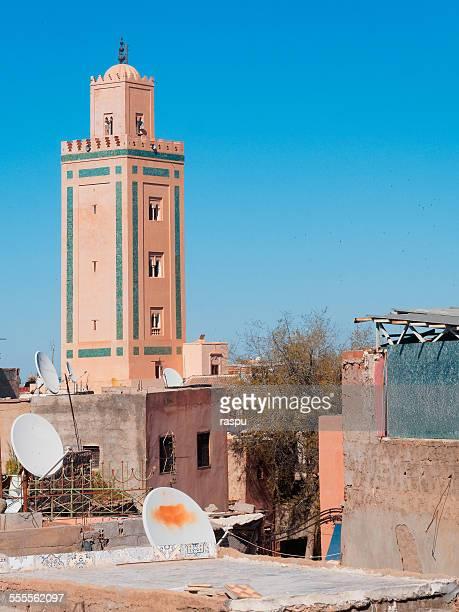 Minaret of a mosque, Marrakech