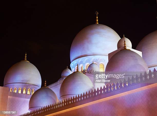 Minarets at Sheikh Zayed Mosque