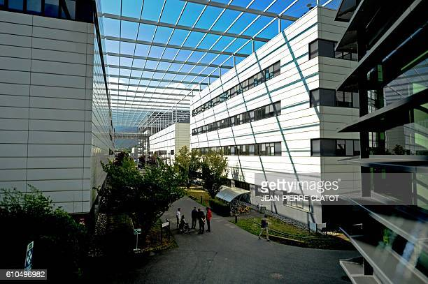 Minatec a European research centre focused on micronano technologies is pictured in Grenoble on September 26 2016 / AFP / JEANPIERRE CLATOT