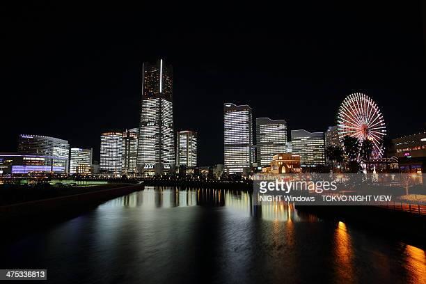 Minato Mirai night