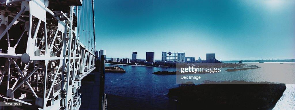 Minato-ku skyline, Tokyo, Japan : Stock Photo