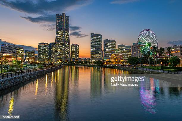 Minatomirai 21 District, Yokohama, Japan