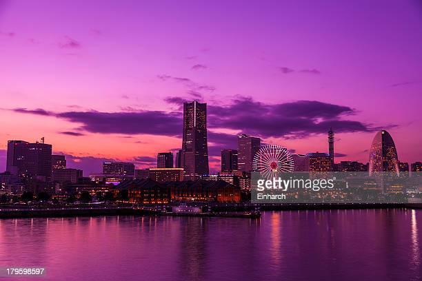 Minatomirai's last dusk of the year