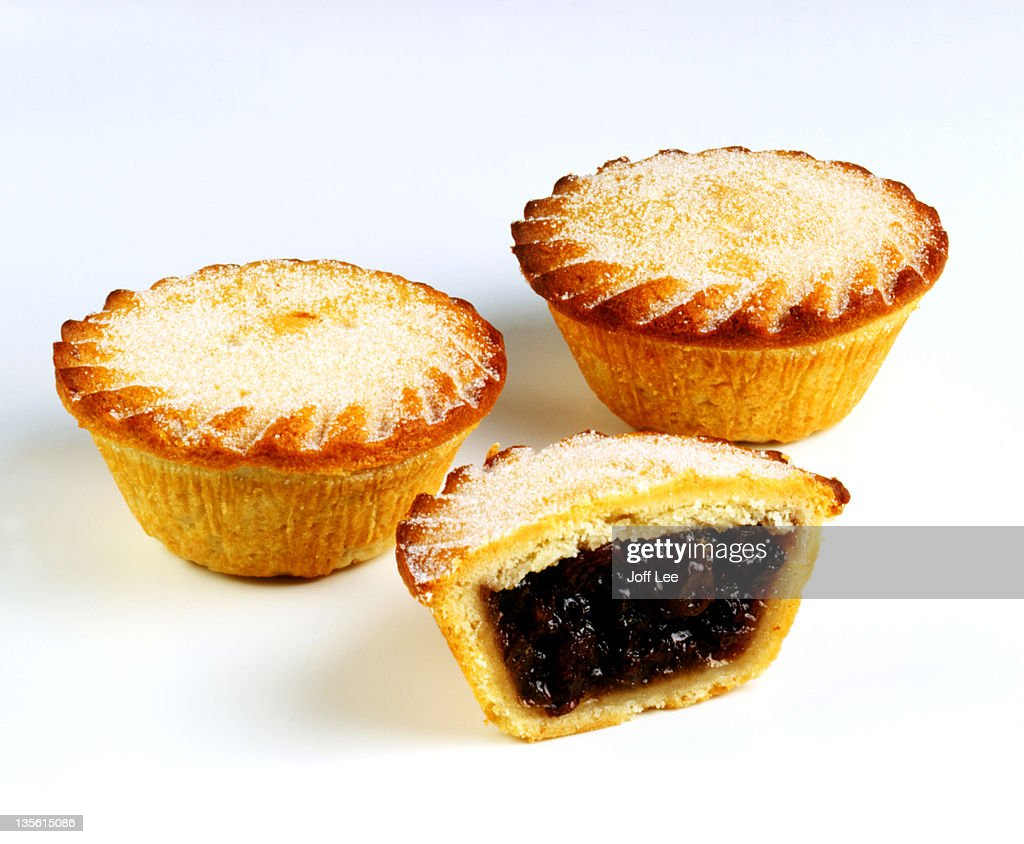 Mince pies whole & halved