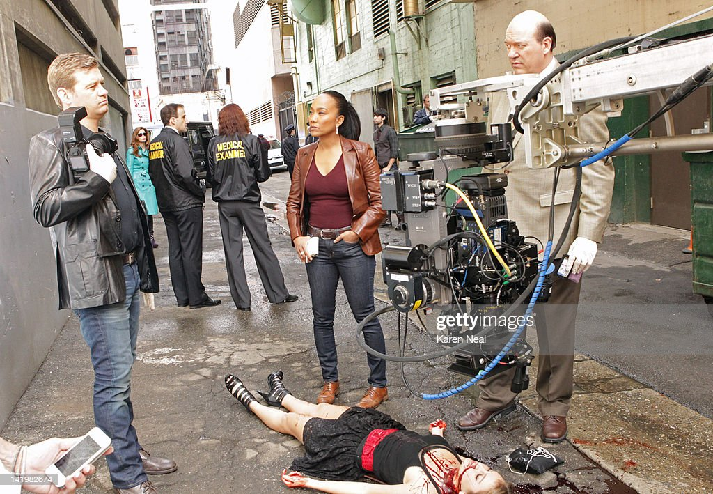 PROOF - 'Mind Games' - When a cause of death seems all too familiar, Megan is forced to come face to face with a serial killer she helped put away, on the Season Finale of 'Body of Proof,' TUESDAY, APRIL 10 (10:01-11:00 p.m., ET) on the ABC Television Network. NICHOLAS BISHOP, DANA DELANY (BACKGROUND), SONJA SOHN, NATALIE TURPIN (ON GROUND), JOHN