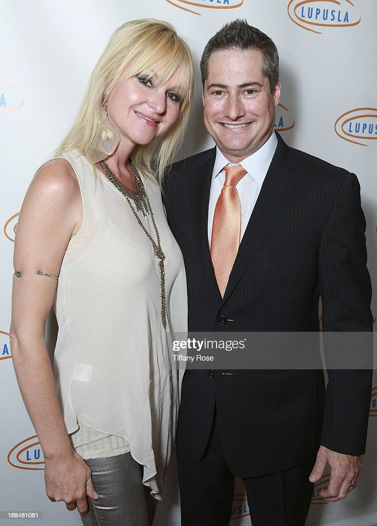 Mindi Abair and Chairman of Lupus LA Adam Selkowitz attend Lupus LA Orange Ball at the Beverly Wilshire Four Seasons Hotel on May 9, 2013 in Beverly Hills, California.