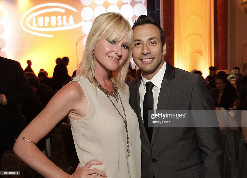 Mindi Abair and <a gi-track='captionPersonalityLinkClicked' href=/galleries/search?phrase=Howie+Dorough&family=editorial&specificpeople=204770 ng-click='$event.stopPropagation()'>Howie Dorough</a> attend Lupus LA Orange Ball at the Beverly Wilshire Four Seasons Hotel on May 9, 2013 in Beverly Hills, California.