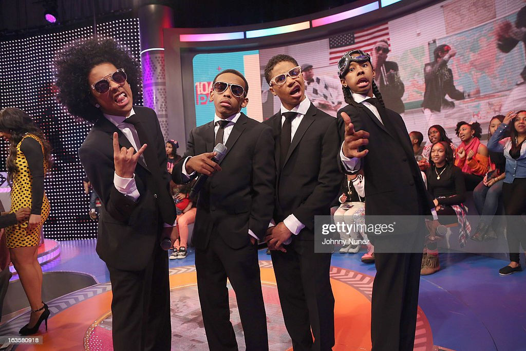 Mindless Behavior visits BET's '106 & Park' at BET Studios on March 11, 2013 in New York City.