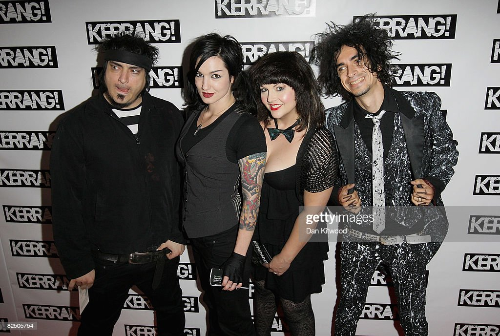 Mindless Self Indulgence attends The Kerrang Awards 2008 held at The Brewery on August 21 2008 in London England