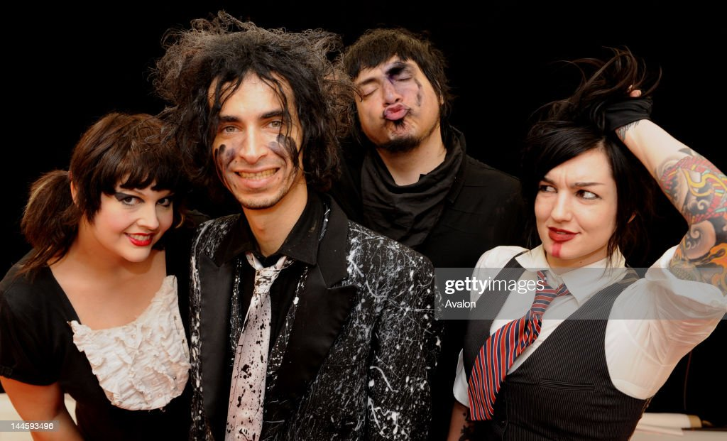 Mindless Self Indulgence backstage at the Leeds Festival 08 Leeds England 22nd August 2008 49628