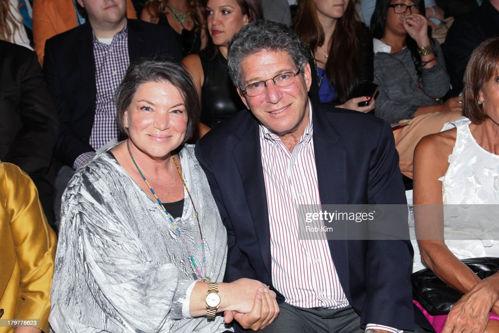 <a gi-track='captionPersonalityLinkClicked' href=/galleries/search?phrase=Mindy+Cohn&family=editorial&specificpeople=574809 ng-click='$event.stopPropagation()'>Mindy Cohn</a> (L) and guest attend the Mark + Estel show during Spring 2014 Mercedes-Benz Fashion Week at The Studio at Lincoln Center on September 6, 2013 in New York City.