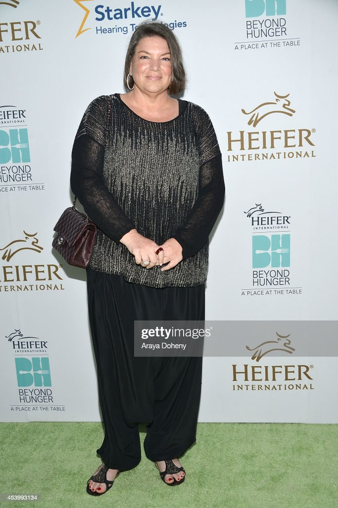 Mindy Cohn attends Heifer International's 3rd Annual 'Beyond Hunger A Place At The Table' Gala at Montage Beverly Hills on August 22 2014 in Beverly...