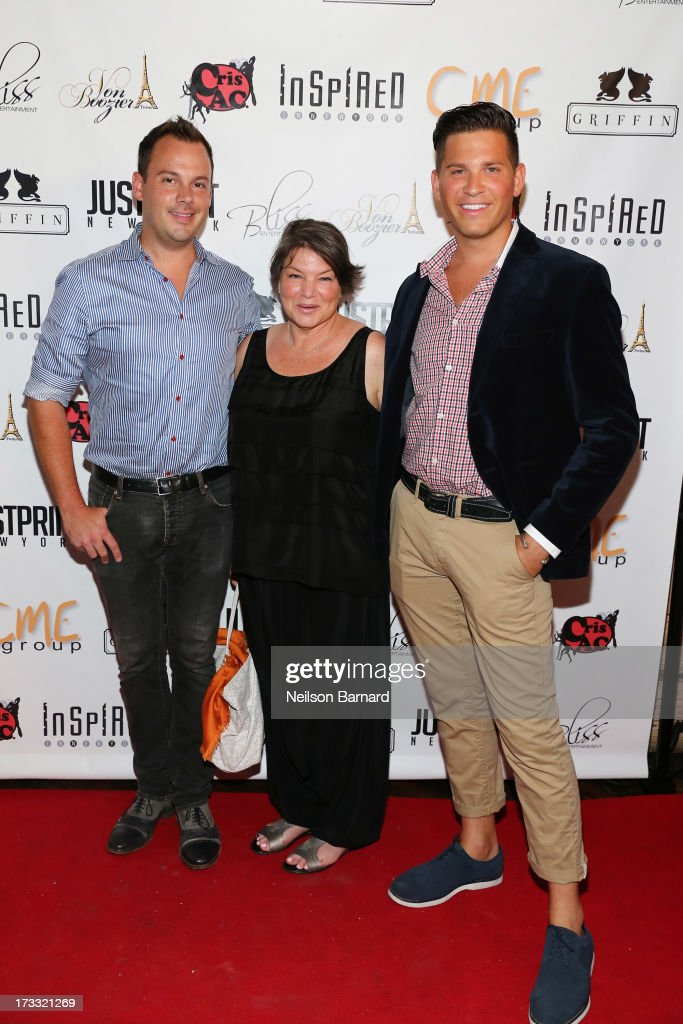 Mindy Cohn attends the 'Inspired In New York' Event on July 11 2013 in New York United States