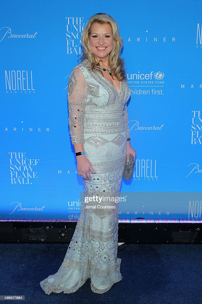Mindy Grossman attends the 11th Annual UNICEF Snowflake Ball Honoring Orlando Bloom Mindy Grossman And Edward G Lloyd at Cipriani Wall Street on...