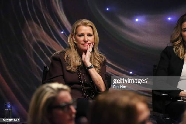 Mindy Grossman attends the Female Bosses celebration and BOSS BITCH book launch and interactive panel event at The Core Club on March 22 2017 in New...
