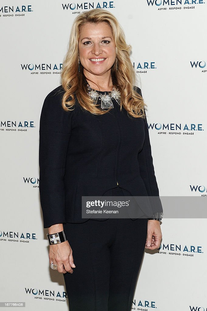 Mindy Grossman attends Women A.R.E. Salon Event Featuring Home Shopping Network's CEO Mindy Grossman at SLS Hotel on April 29, 2013 in Beverly Hills, California.