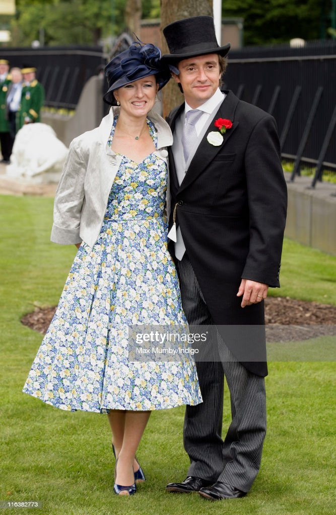 Mindy Hammond and <a gi-track='captionPersonalityLinkClicked' href=/galleries/search?phrase=Richard+Hammond&family=editorial&specificpeople=2540628 ng-click='$event.stopPropagation()'>Richard Hammond</a> attend day 2 of Royal Ascot at Ascot Racecourse on June 15, 2011 in Ascot, United Kingdom.