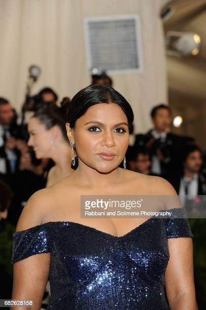Mindy Kaling attends 'Rei Kawakubo/Comme des Garcons Art Of The InBetween' Costume Institute Gala Arrivals at Metropolitan Museum of Art on May 1...