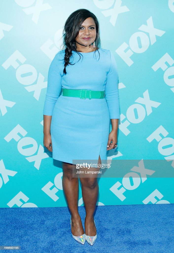 Mindy Kaling attends the FOX 2103 Programming Presentation Post-Party at Wollman Rink - Central Park on May 13, 2013 in New York City.