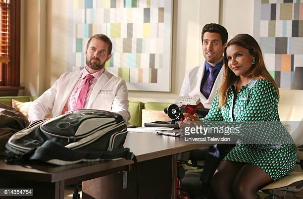 PROJECT 'Mindy Lahiri Is A Misogynist' Episode 504 Pictured Garret Dillahunt as Jody KimballKinney Ed Weeks as Jeremy Reed Mindy Kaling as Mindy...
