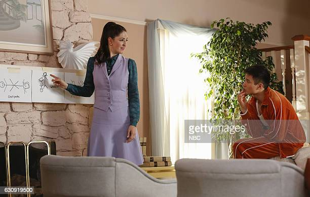 PLACE 'Mindy St Claire' Episode 112 Pictured D'Arcy Carden as Janet DellaDenunzio Manny Jacinto as Jianyu
