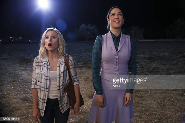 PLACE 'Mindy St Claire' Episode 112 Pictured Kristen Bell as Eleanor Shellstrop D'Arcy Carden as Janet DellaDenunzio