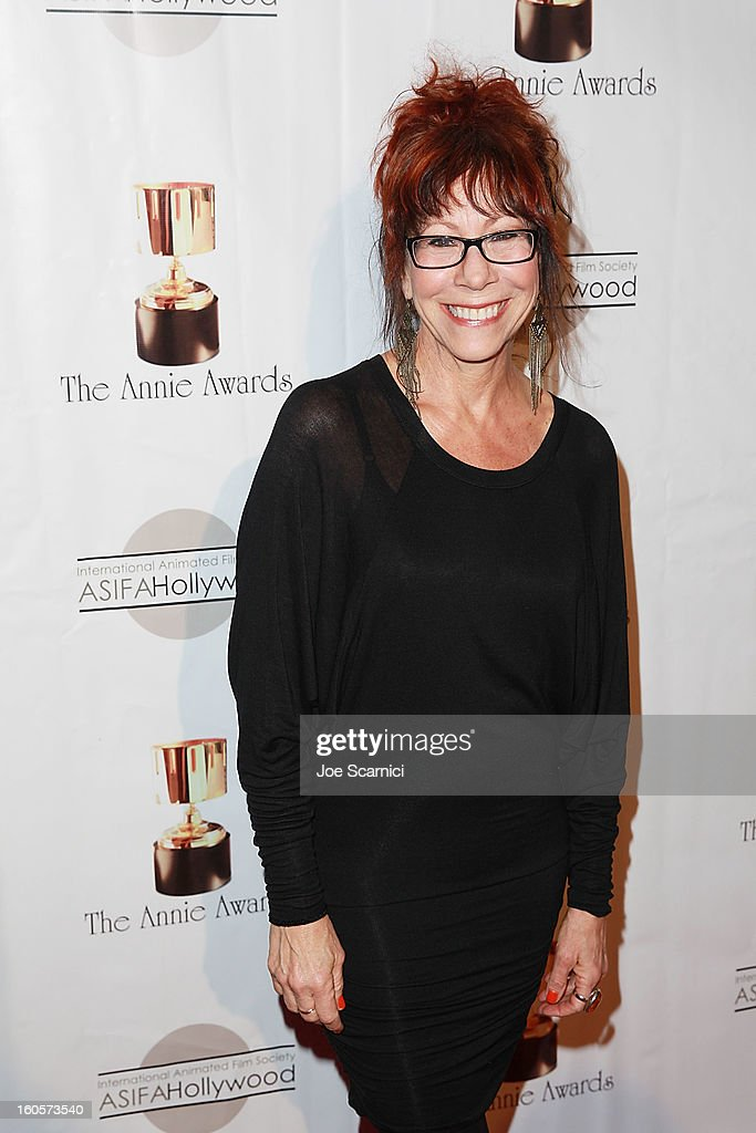 Mindy Sterling arrives at the 40th Annual Annie Awards at Royce Hall on the UCLA Campus on February 2, 2013 in Westwood, California.