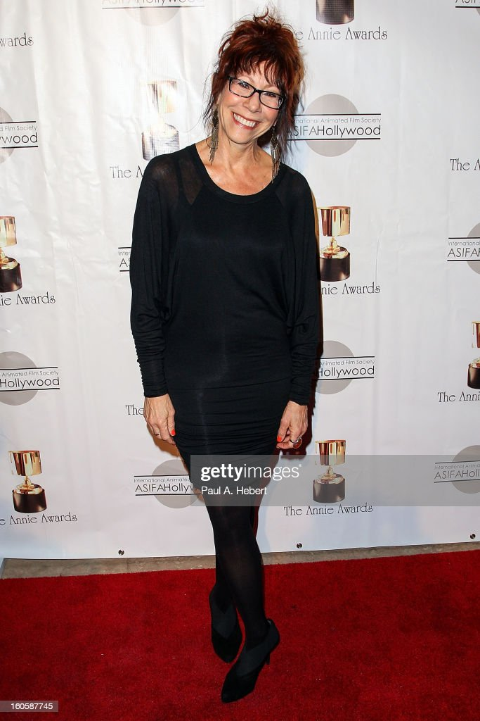 Mindy Sterling arrives at the 40th Annual Annie Awards held at Royce Hall on the UCLA Campus on February 2, 2013 in Westwood, California.