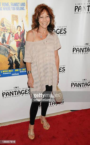 Mindy Sterling arrives at the Los Angeles Opening of 'In The Heights' at the Pantages Theatre on June 23 2010 in Hollywood California