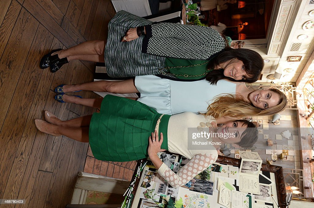 Mindy Weiss, Whitney Port and Wedding Paper Divas' Amber Harrison attend Wedding Paper Divas Presents 'Whitney Port's Love Story' at Mari Vanna Los Angeles on February 11, 2014 in West Hollywood, California.