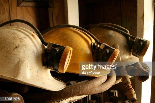 Mine Helmets
