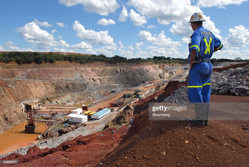 A mine supervisor overlooks Metorox's Chibuluma copper mine near Kitwe Zambia on Thursday Feb 7 2008 The price of copper Zambia's largest export has...