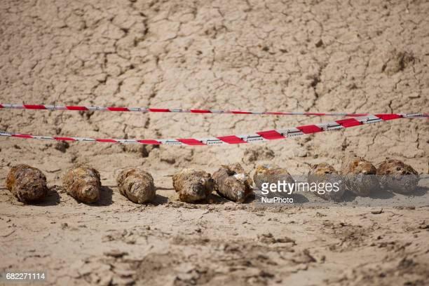 Minefield between Basra and the Iranian border dating back from the IranIraq war 198088 Basra Iraq 10/11 May 2017
