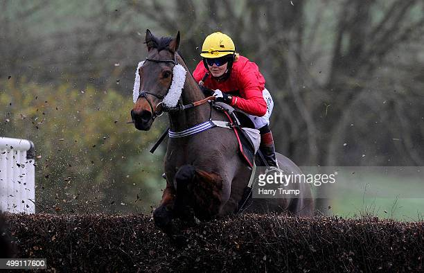 Minella Theatre ridden by Victoria Pendleton at Black Forest Lodge on November 29 2015 in Exeter England