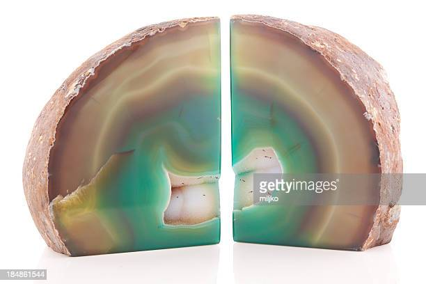 Mineral and crystals - Agate geodes
