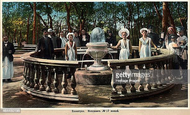 Mineral water spring no 17 Yessentuki Russia 1900s Situated in the northern Caucasus Yessentuki has been a popular spa resort since the 19th century...
