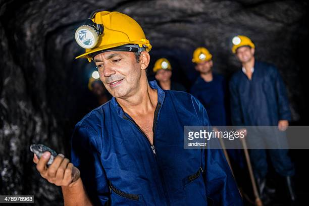 Miners at the mine