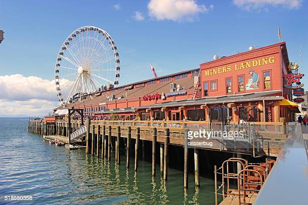 Miners Landing, Seattle, Washington