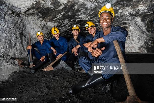 Miners prendendo una pausa