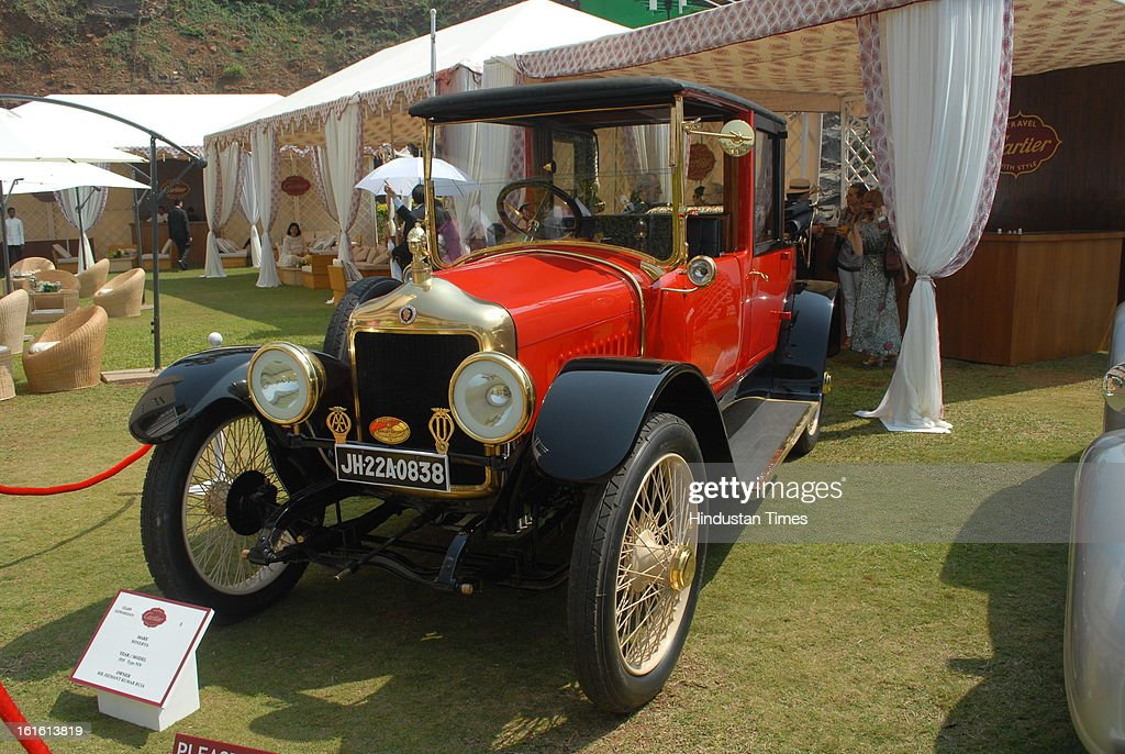 Minerva 1929 Type NN taking part in Third Cartier Travel With Style Concours D'Elegance Vintage car show at 2013 Taj Lands End on February 10, 2013 in Mumbai, India.