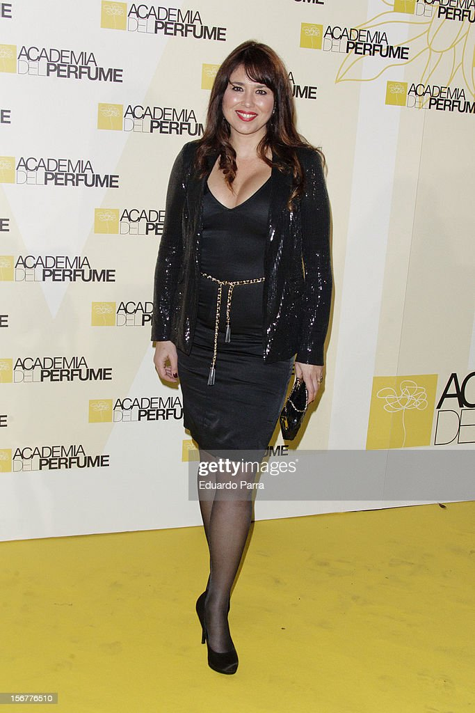 Minerva Piquero attends Academia del perfume awards photocall at Casa de America on November 20, 2012 in Madrid, Spain.