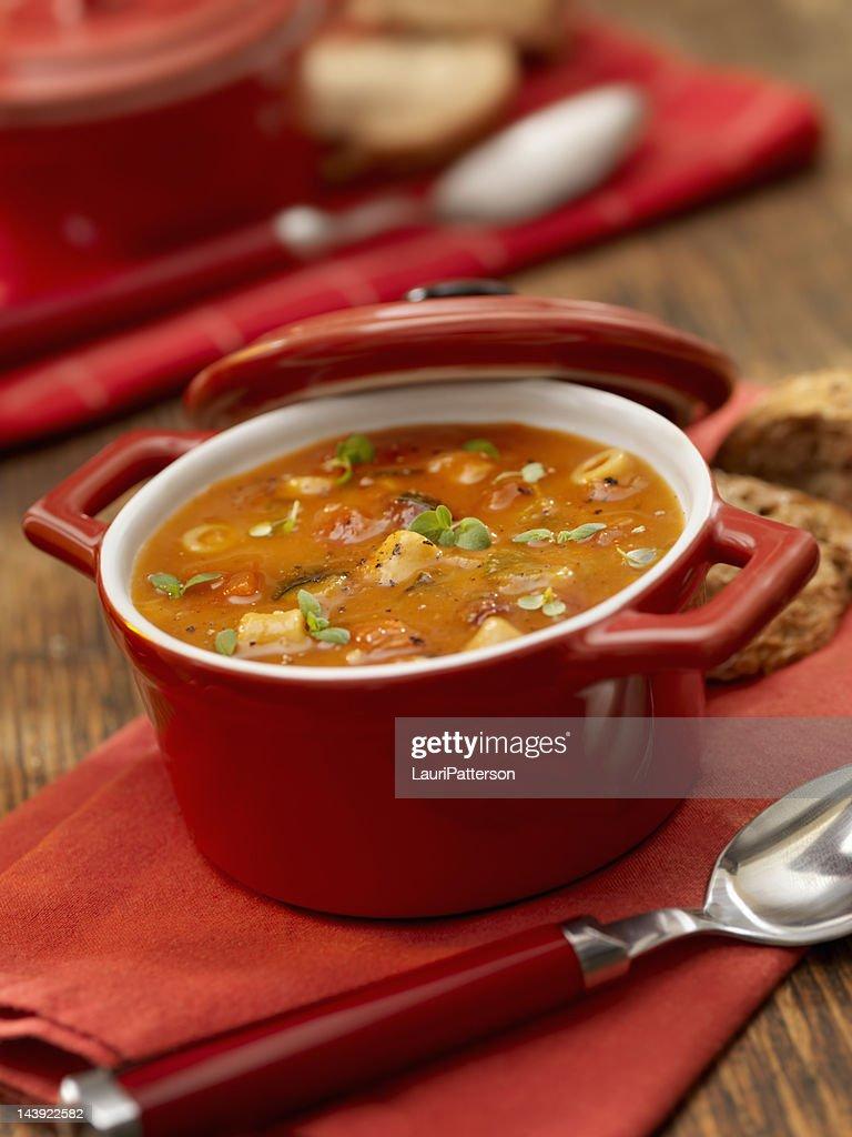 Minestrone Soup : Stock Photo