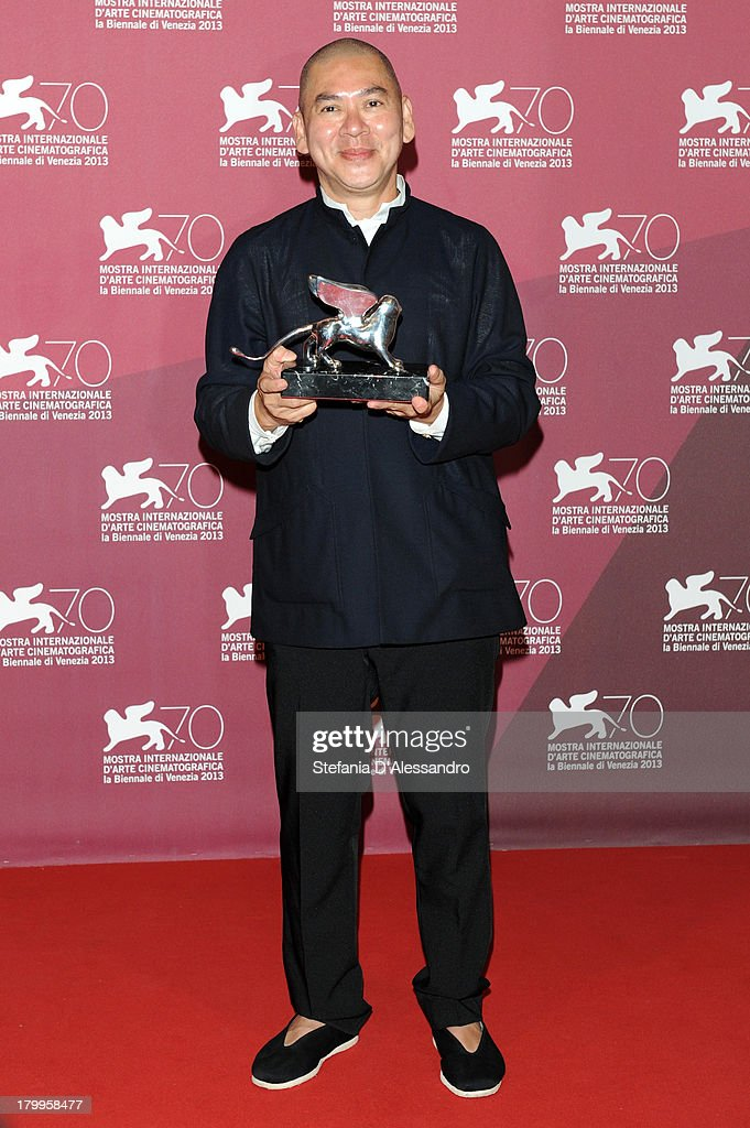 Ming Liang Tsai attends Award Winners Photocall during the 70th Venice International Film Festival at Palazzo del Casino on September 7, 2013 in Venice, Italy.