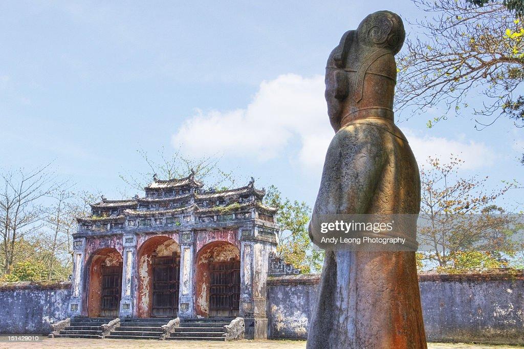 Ming Mang Mausoleum : Stock Photo