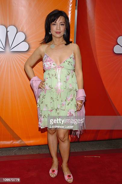 Ming Na during 2005/2006 NBC UpFront Red Carpet at Radio City Music Hall in New York NY United States
