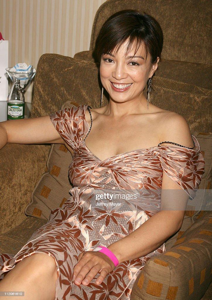 Ming Na during Jayneoni's PreMTV Movie Awards Birthday and Fashion Bash at Park Hyatt Hotel in Los Angeles California United States